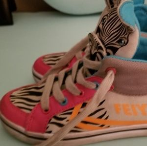 Feiyue Shoes - Feiyue zebra sneakers